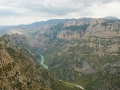 Gorge du Verdon, Panorama