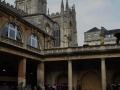 Bath---The-cathedral-from-the-Roman-Baths