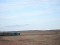 My view from the train, Gobi Desert