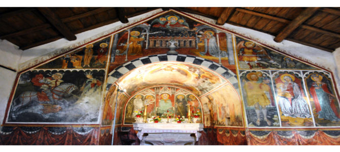 San Nicolò Chapel: 6 characters in search of an author (+2)