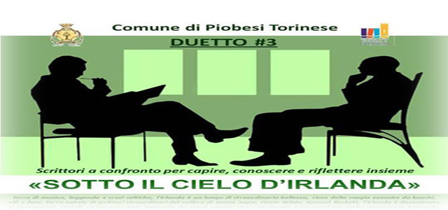 """Racconti d'Irlanda"" – let's meet in Piobesi!"